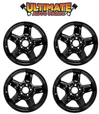 """Wheels Set of 4 5 Spoke Steel 17"""" for 10-11 Ford Fusion"""