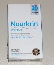 Nourkrin Woman Hair Nutrition Programme - 60 Tablets 1 Month Supply....,.