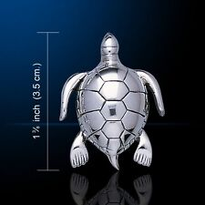 Turtle .925 Sterling Silver Pendant by Peter Stone