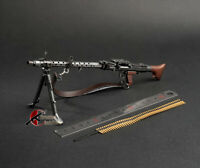 "DRAGON WWII German MG-34 Machine Gun 1/6 Fit for 12"" acton figure"
