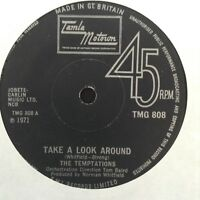 THE TEMPTATIONS: TAKE A LOOK AROUND 1971 Motown single TMG808