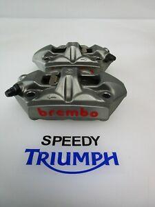 TRIUMPH DAYTONA 675R SPEED TRIPLE R BREMBO FRONT BRAKE CALIPER T2021450 T2023520
