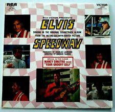 "Elvis PRESLEY ""Elvis Speedway"" EX+++ LP de 1968 RCA Victor 740.680 Nancy SINATRA"