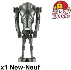 Lego Figurine Minifig Star Wars Super Battle Droid robot sw0092 NEUF