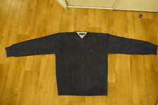 one men pull 100% heavy cotton Tommy Hilfiger blue size XL XG pull coton