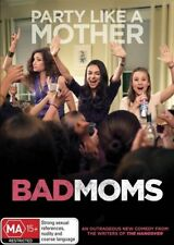 Bad Moms NEW DVD (Region 4 Australia) Mila Kunis Kristen Bell Jada Pinkett Smith