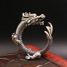A15 Ring Drache Sterling Silber 925 größenverstellbar