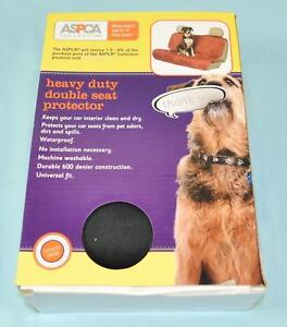 ASPCA Collection - Heavy Duty Double Car Seat Protector Cover