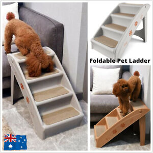 Foldable Pet Cat Stairs Dog Ramp Steps Portable Puppy Climbing Ladder Anti Slip