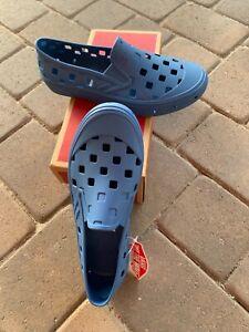 VANS TREK SLIP-ON Navy Blue Color Men's US 8 Womens 9.5 SOLD OUT Brand New Shoes