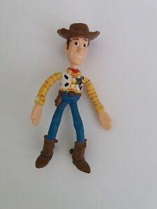 Disney - Toy Story Sherrif Woody Bendy Figure / Toy - VGC
