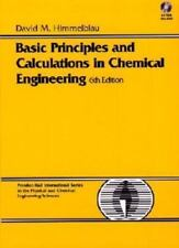 Basic Principles and Calculations in Chemical Engineering (BK/CD) (6th Edition),