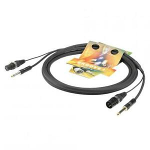Sommercable Instrumenten / InEar- Monitoring-Kabel TRICONE SYMASYM - 6,0 m