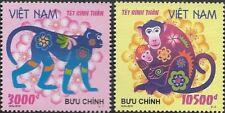 North Vietnam 2015 Year of the Monkey Sc# 3539-3540 Mnh