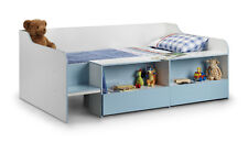Julian Bowen Stella Lowsleeper Bed Blue UK 3ft - Collection Only