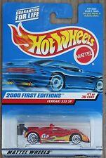 Hot Wheels 1/64 Ferrari 333 SP 2000 First Editions No. 11/36