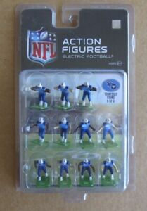 """2016 NFL TENNESSEE TITANS BLUE HOME 1"""" ACTION FIGURES ELECTRIC FOOTBALL"""