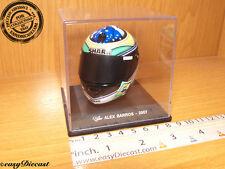 ALEX BARROS MOTO-GP SHARK HELMET 1/5 2007  MINT!!!