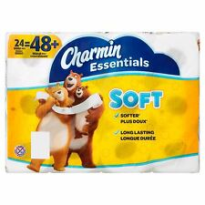 Charmin Essentials Soft Toilet Paper, 24 double rolls