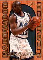 1995-96 Fleer Flair Hardwood Leaders #19 Shaquille O'Neal - NM-MT