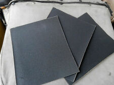 15 Wet and Dry Sanding Sheets 5 each 80 180 320 grit 9 x 11 inch sheets