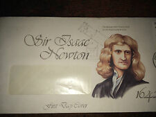 GB Stamps - QEII - Sir Isaac Newton 1987 First Day Cover