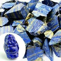 Gemstone Afghanistan Lapis lazuli Crystal Natural Rough 100g Gifts Mineral Y7G5