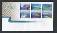 AFD1159) Australia 2007 Island Jewels FDC International Post