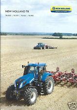 Farm Tractor Brochure - New Holland - T8.300 - T8 series - c2010 (F4263)