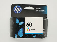 Genuine HP 60 Tri-Color Ink Cartridge - New Factory Sealed - Exp May 2015