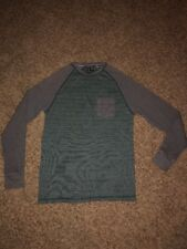 Mens Distortion Thermal Long Sleeved Shirt Size S-Preowned