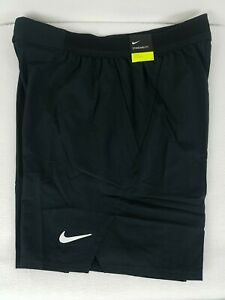 Nike Court Flex Ace 9 Dri-Fit Tennis Shorts Size M Mens Black Pockets CI9162-010