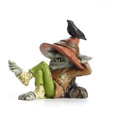 Miniature Dollhouse FAIRY GARDEN - Ray Troll with Bird - Accessories