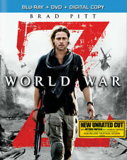 World War Z. [New Blu-ray] With DVD, Widescreen, Subtitled, Unrated, 2 Pack, A