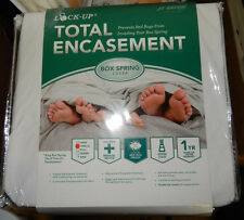 JT Eaton Lock-Up Total Encasement TWIN XL SIZE / KING BOX SPRING COVER  U need 2