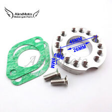 26mm Carb Manifold Spinner Plate Adaptor For Monkey Dax Pit Dirt Bike ATV Quad