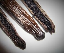 10 Fresh Madagascar Grade A Bourbon Vanilla Beans [Whole]