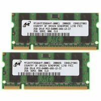 4GB (2X 2GB Kit) Acer Aspire / Extensa / TravelMate DDR2 Laptop RAM Memory UK