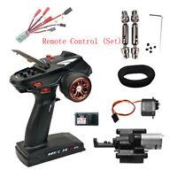 NEW 4CH/6CH Transmitter RC Car Remote Controller ESC Modification 2.4G RBR/C MV