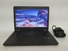 """Dell Latitude E7450 14"""" Laptop i7-5600U, 16GB RAM, 256GB SSD, Win10 + charger"""