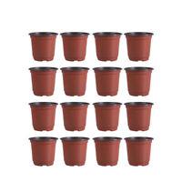 30-100Pc Plastic Flowerpot Breathable Flower Pot Succulents Flower Pot Basin Pot