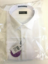Pierre Cardin White Cotton Business Shirt Size 42 Long Sleeve 91 European Cut 4