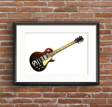 Pete Townshend's Wine Red Gibson Les Paul Deluxe #5 POSTER PRINT A1 size