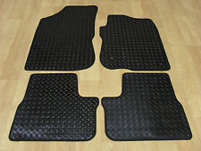Peugeot 2008 2013-on Fully Tailored RUBBER Car Mats in Black.
