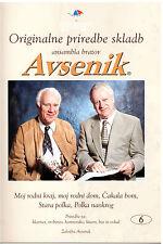 Oberkrainer Besetzung Noten : AVSENIK Originale Bearbeitungen 6 für Quintett