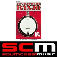NEW MEL BAY FUN WITH THE BANJO SONG BOOK 23 SONGS HUGE DISCOUNT!