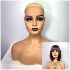 Mannequin Head Wig Manikin Pvc For Wig Hat Jewelry