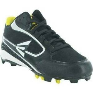 Mens Molded Baseball Cleats Easton Black Low Shoes-size 8.5