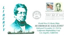 THOMAS H. GALLAUDET Ship named: Founder,Educator School for Deaf Portrait #1861