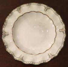 Royal Crown Derby - Elizabeth Platinum Dinner Plate - New Old Stock